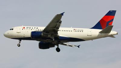 N334NB - Airbus A319-114 - Delta Air Lines