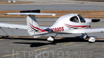 A picture of N268DS - Diamond DA40 Diamond Star - [40.1143] - © Agustin Anaya