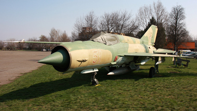 51 - Mikoyan-Gurevich MiG-21 Fishbed - Hungary - Air Force