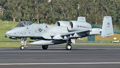80-0163 - Fairchild A-10C Thunderbolt II - United States - US Air Force (USAF)