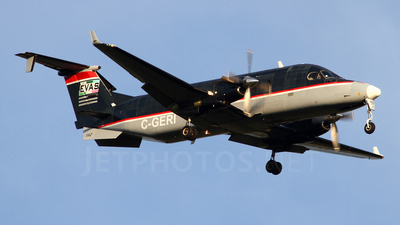 A picture of CGERI - Beech 1900D - [UE162] - © Mark Stares