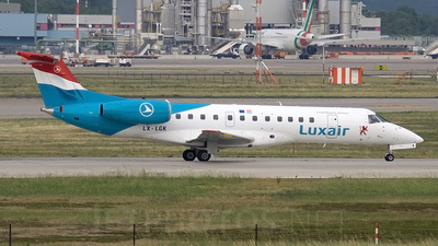 LX-LGK - Embraer ERJ-135LR - Luxair - Luxembourg Airlines