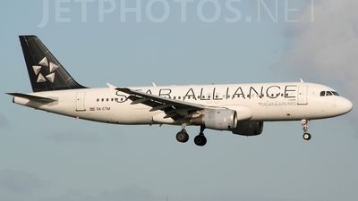9A-CTM - Airbus A320-212 - Croatia Airlines