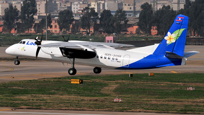 RPDL-34168 - Xian MA-60 - Lao Airlines