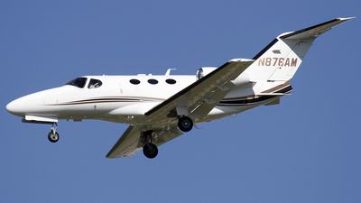 N876AM - Cessna 510 Citation Mustang - Private