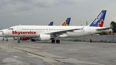 C-FTDQ - Airbus A320-214 - Skyservice Airlines
