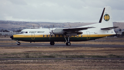 VH-EWW - Fokker F27-500 Friendship - East-West Airlines