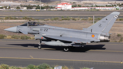 C.16-42 - Eurofighter Typhoon EF2000 - Spain - Air Force