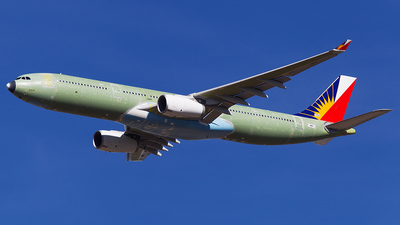 F-WWYJ - Airbus A330-343 - Philippine Airlines