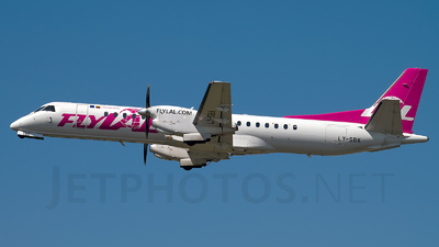 LY-SBK - Saab 2000 - flyLAL - Lithuanian Airlines