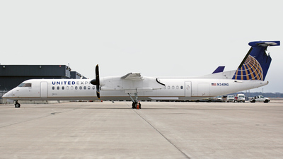 N341NG - Bombardier Dash 8-Q402 - United Express (Colgan Air)