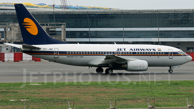 VT-JNF - Boeing 737-71Q - Jet Airways