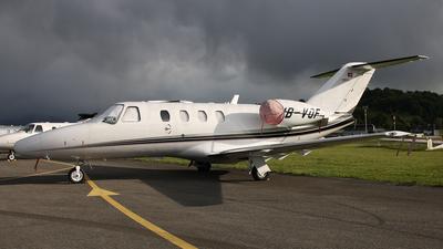 A picture of HBVOF - Cessna 525 CitationJet CJ1+ - TAG Aviation - © Dominik Burger