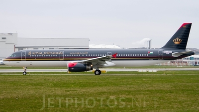 D-AZAV - Airbus A321-231 - Royal Jordanian