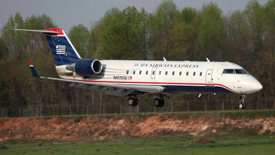N409AW - Bombardier CRJ-200LR - US Airways Express (Air Wisconsin)