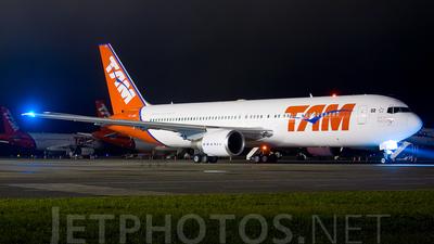 PT-MSU - Boeing 767-33A(ER) - TAM Linhas Aéreas