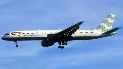 G-BIKA - Boeing 757-236 - British Airways
