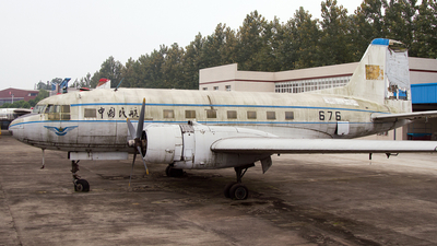 676 - Ilyushin IL-14P - Civil Aviation Administration of China (CAAC)