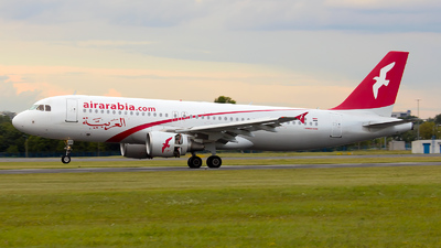 SU-AAB - Airbus A320-214 - Air Arabia Egypt