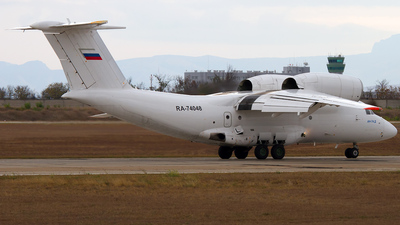 RA-74048 - Antonov An-74D - Second Sverdlovsk Aviation Enterprise
