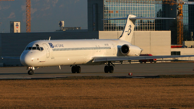 G-FLTK - McDonnell Douglas MD-83 - Blue Line (Flightline)