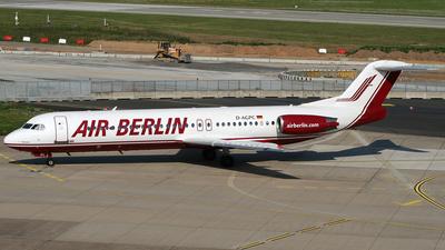 D-AGPC - Fokker 100 - Air Berlin (Germania)