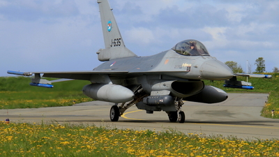 J-635 - General Dynamics F-16AM Fighting Falcon - Netherlands - Royal Air Force