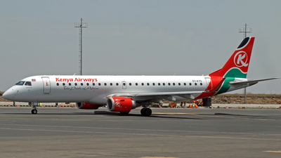 5Y-KYS - Embraer 190-100IGW - Kenya Airways