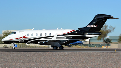 N300BZ - Bombardier BD-100-1A10 Challenger 300 - Private