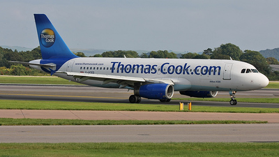 G-VCED - Airbus A320-231 - Thomas Cook Airlines