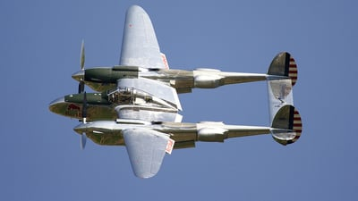 N25Y - Lockheed P-38L Lightning - The Flying Bulls