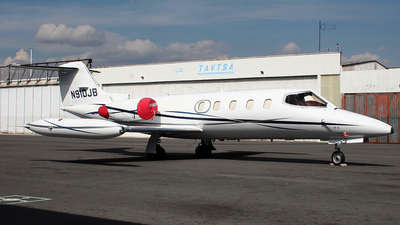N910JB - Gates Learjet 25D - Private