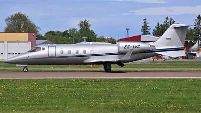A picture of ESLVC - Learjet 60 - [60281] - © SimonCamps