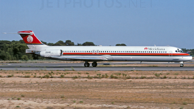 EC-EFU - McDonnell Douglas MD-83 - Meridiana