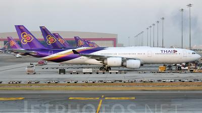 HS-TLD - Airbus A340-541 - Thai Airways International