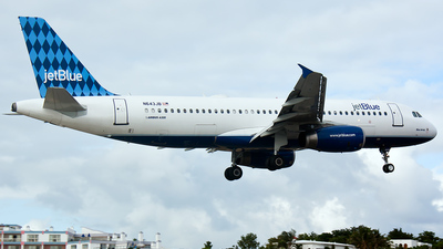 N643JB - Airbus A320-232 - jetBlue Airways