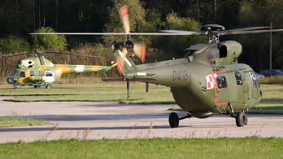 0418 - PZL-Swidnik W3 Sokol - Poland - Air Force