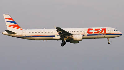 OK-CED - Airbus A321-211 - CSA Czech Airlines