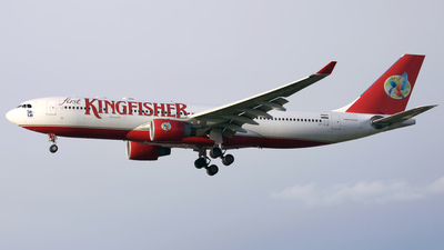 VT-VJP - Airbus A330-223 - Kingfisher Airlines
