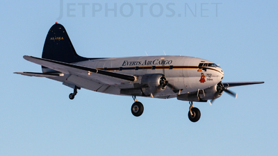 N54514 - Curtiss C-46D Commando - Everts Air Cargo