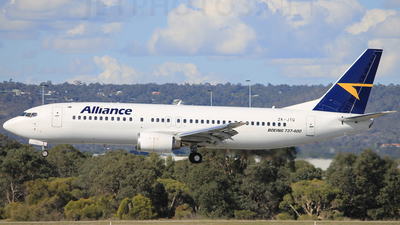 ZK-JTQ - Boeing 737-476 - Alliance Airlines
