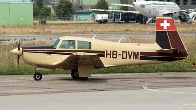 HB-DVM - Mooney M20E - Private
