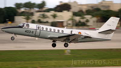 TR.20-01 - Cessna 560 Citation Ultra - Spain - Air Force