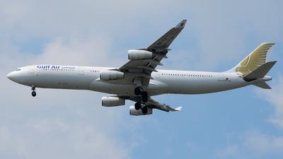A9C-LG - Airbus A340-313X - Gulf Air