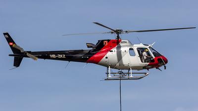 HB-ZKZ - Eurocopter AS 350B3 Ecureuil - Private