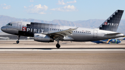 N510NK - Airbus A319-132 - Spirit Airlines