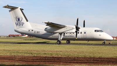 A picture of 5YBXI - De Havilland Canada Dash 8100 -  - © Mike Ward
