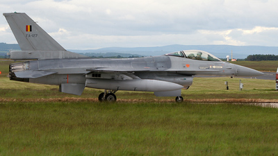 FA-127 - General Dynamics F-16AM Fighting Falcon - Belgium - Air Force