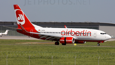D-AHXA - Boeing 737-7K5 - Air Berlin
