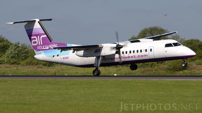 G-WOWB - Bombardier Dash 8-311 - Eastern Airways